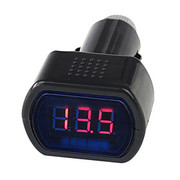 12V/24V digitale LED Auto Auto / LKW-Gauge Voltmeter